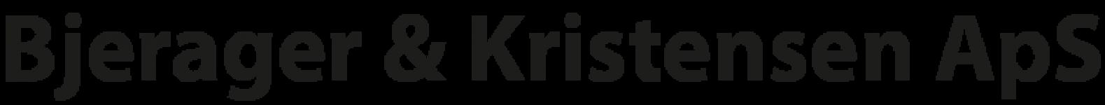 Bjerager & Kristensen ApS logo