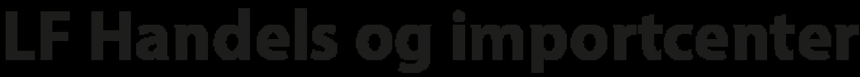 LF Handels og importcenter logo